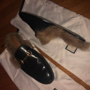 Gucci Men's Princetown Loafers Size 8